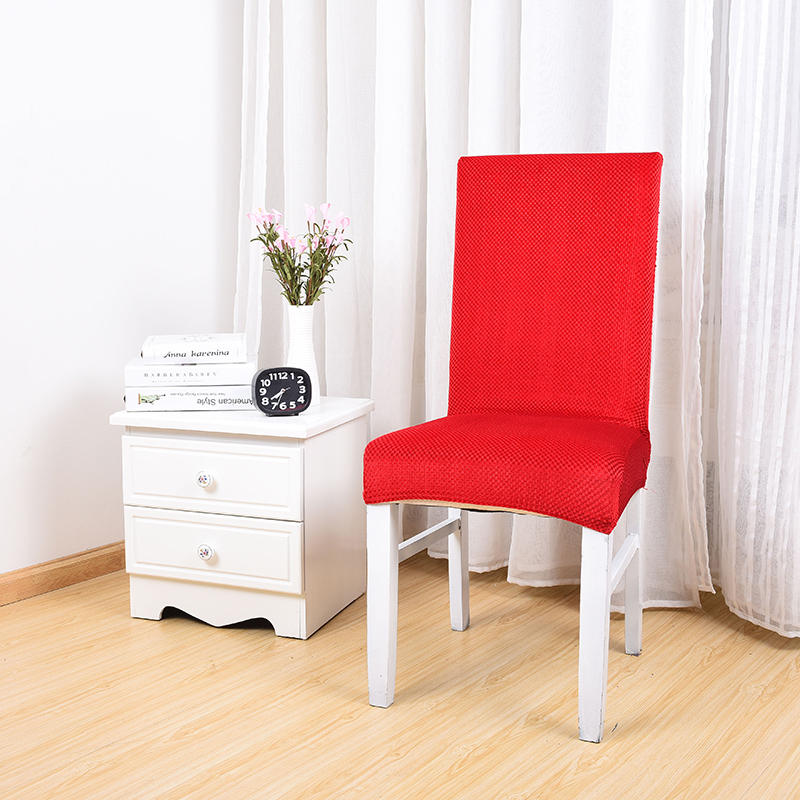 Amazing Us 19 0 Bright Red Solid Color Dining Room Chair Slipcover Cheap Chair Covers In Chair Cover From Home Garden On Aliexpress Machost Co Dining Chair Design Ideas Machostcouk