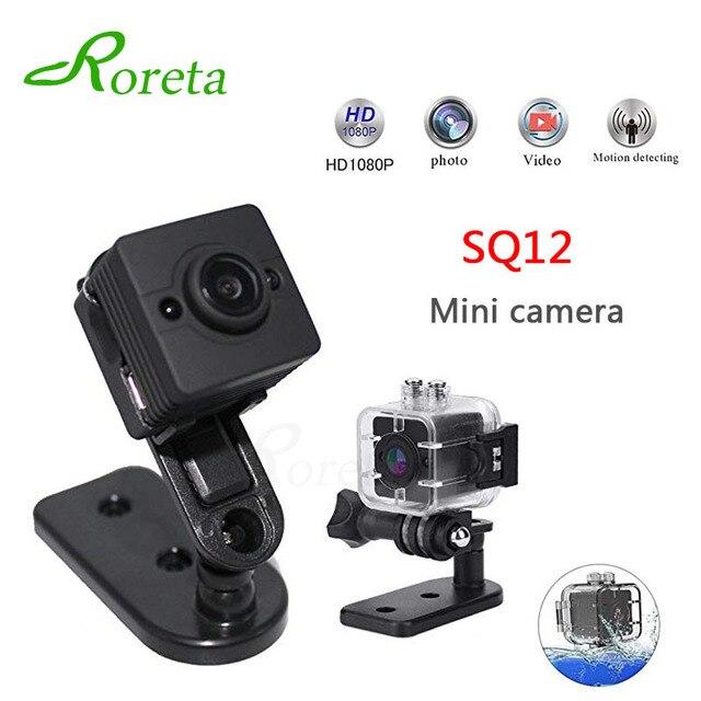 Roreta SQ12 Mini Camera Waterproof mini Camcorder small camera DVR Mini video camera Sport DV wireless SQ 12 micro cam