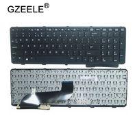 Gzeele 영어 hp probook 650 g1 655 g1 용 새 키보드 프레임 노트북 키보드 검정색 738697 001|keyboard for hp|hp 650 keyboard650 keyboard -