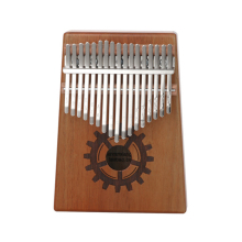 Scoutdoor 17 Keys High-Quality Kalimba Mahogany Body Musical Instrument Thumb Piano with Solid Wood