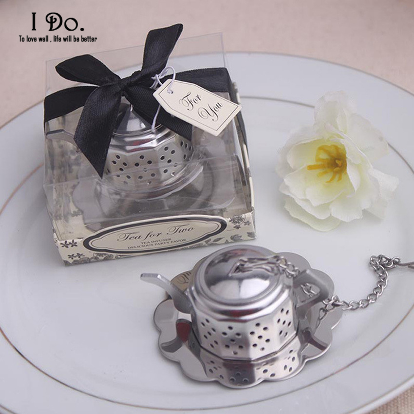Wedding Gifts For Guest: Free Shipping Teapot Tea Infuser Wedding Favors And Gifts