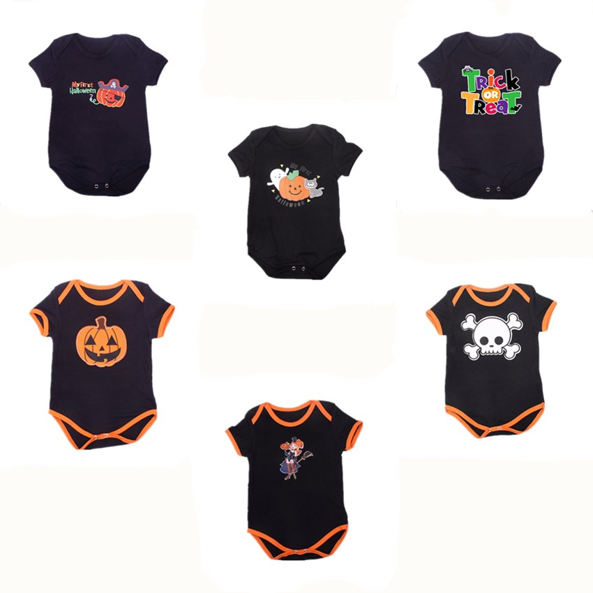 26b012da1 ②Unisex New Born Baby Girl and Boy Clothes Body Halloween Clothing ...