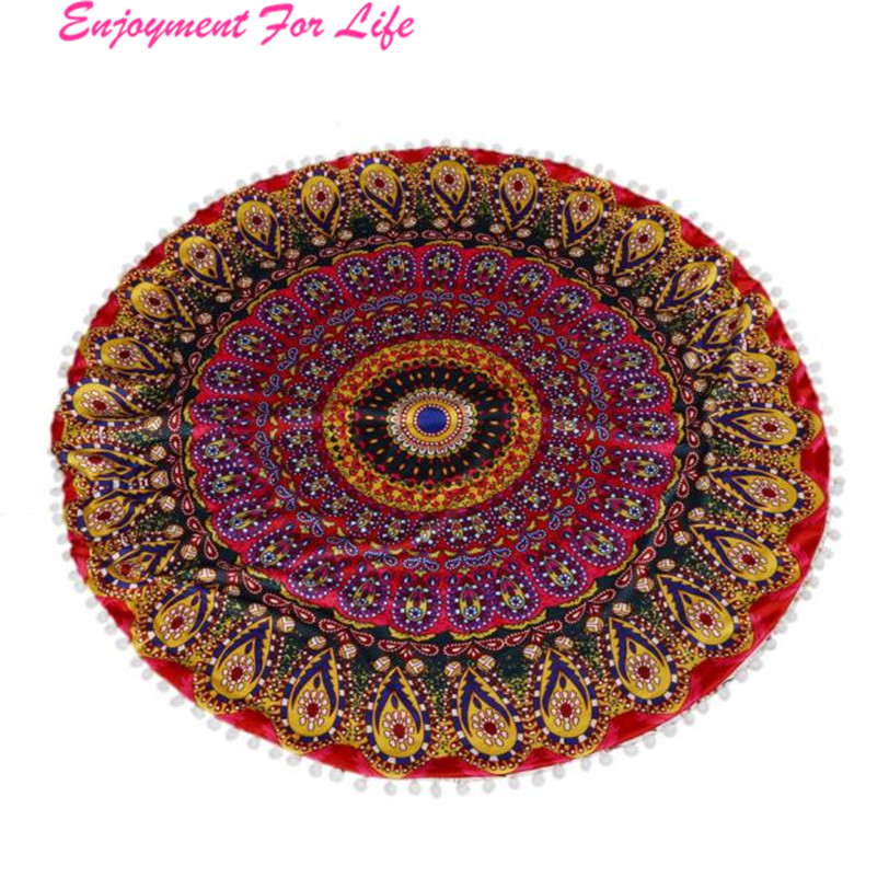 Large Mandala Floor Pillows Wholesale High Quality Round
