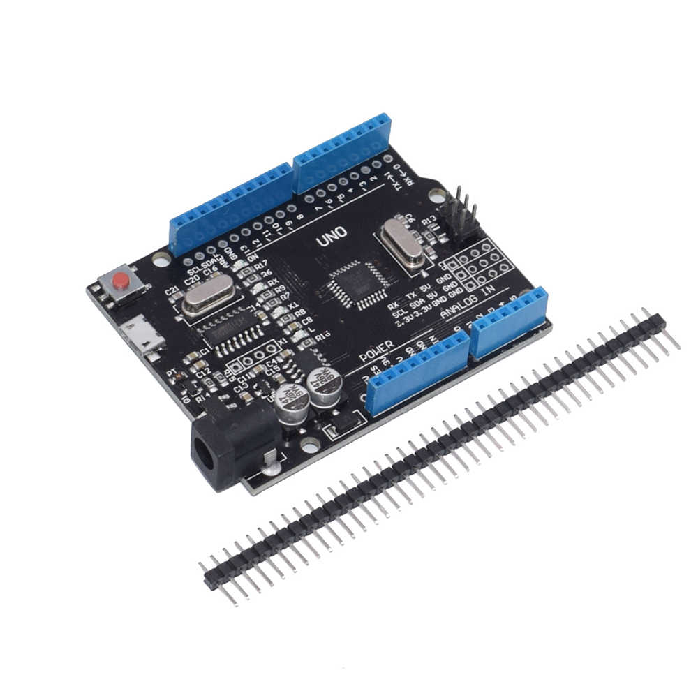 1 pièces UNO R3 CH340G + MEGA328P ATMEGA16U2 câble USB 2.4 TFT écran LCD puce 16Mhz UNO R3 boad UNO Proto bouclier pour Arduino