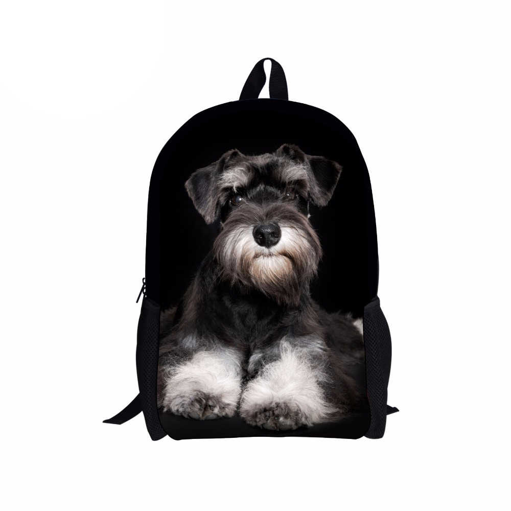 Anak Sekolah Baru untuk Anak Perempuan TK Yorkshire Terrier Dicetak Anak-anak Ransel Set Remaja Laptop Mochila Pria Bolsa LOL