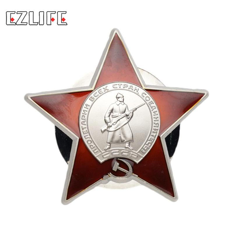 Russian Red Army Soviet Union USSR Military Medal Badge for Uniforms Souvenir Medal Badge Drop Shipping(China)