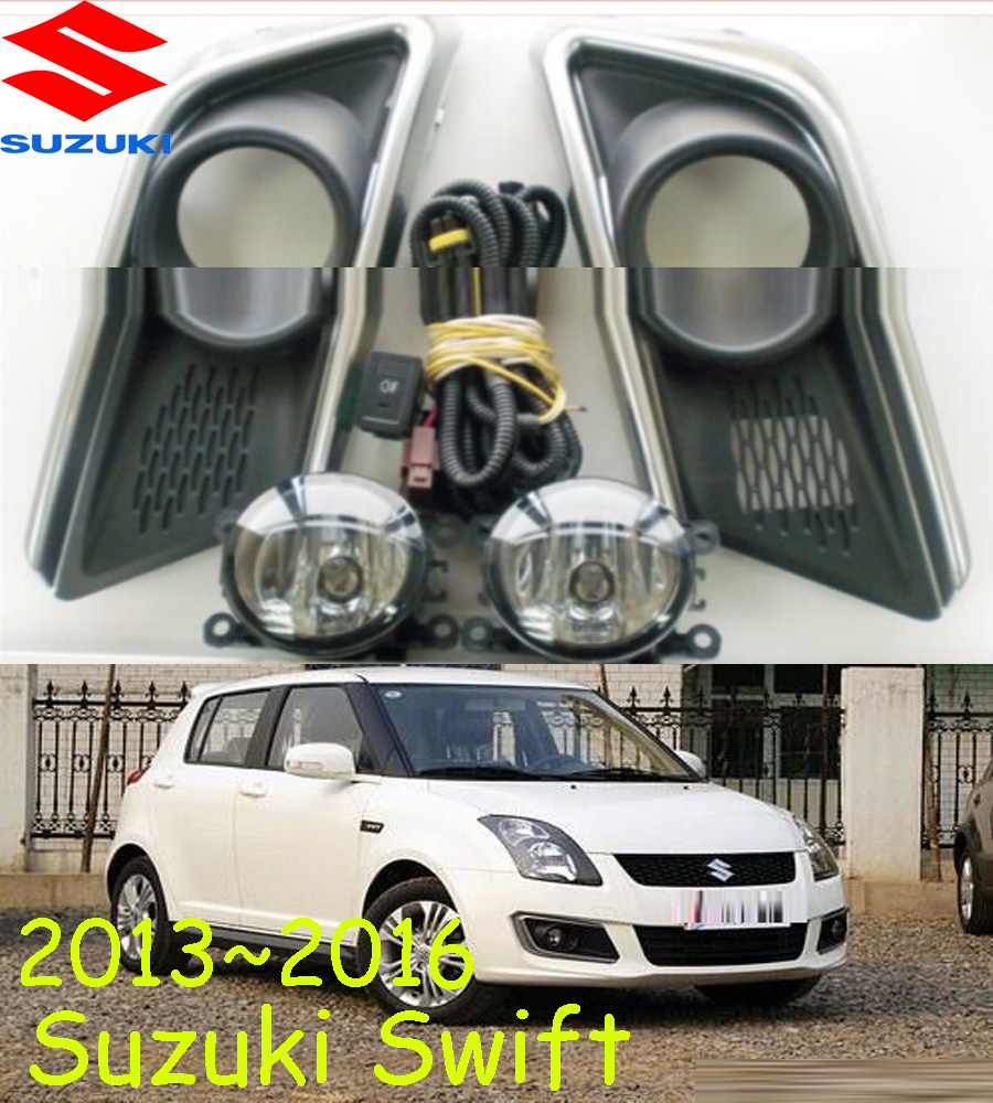 car-styling,Swift halogen light,2014~2016,Free ship!2pcs,Swift fog light;car-covers,Chrome,Swift headlight, SX4 car styling byd f0 halogen light free ship 2pcs byd f0 fog light car covers byd f0 headlight car covers f 0 l3 f3