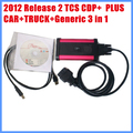 Diagnostic Tool 2012 Release 2 TCS CDP+ PLUS CAR+TRUCK+Generic 3 in 1 free shipping
