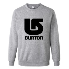 Burton Skateboard Sweatshirt Men Hoodies Fashion Clothes Hip Hop Suit Pullover Men's Tracksuits Autumn Winter Asian Size RAA0463