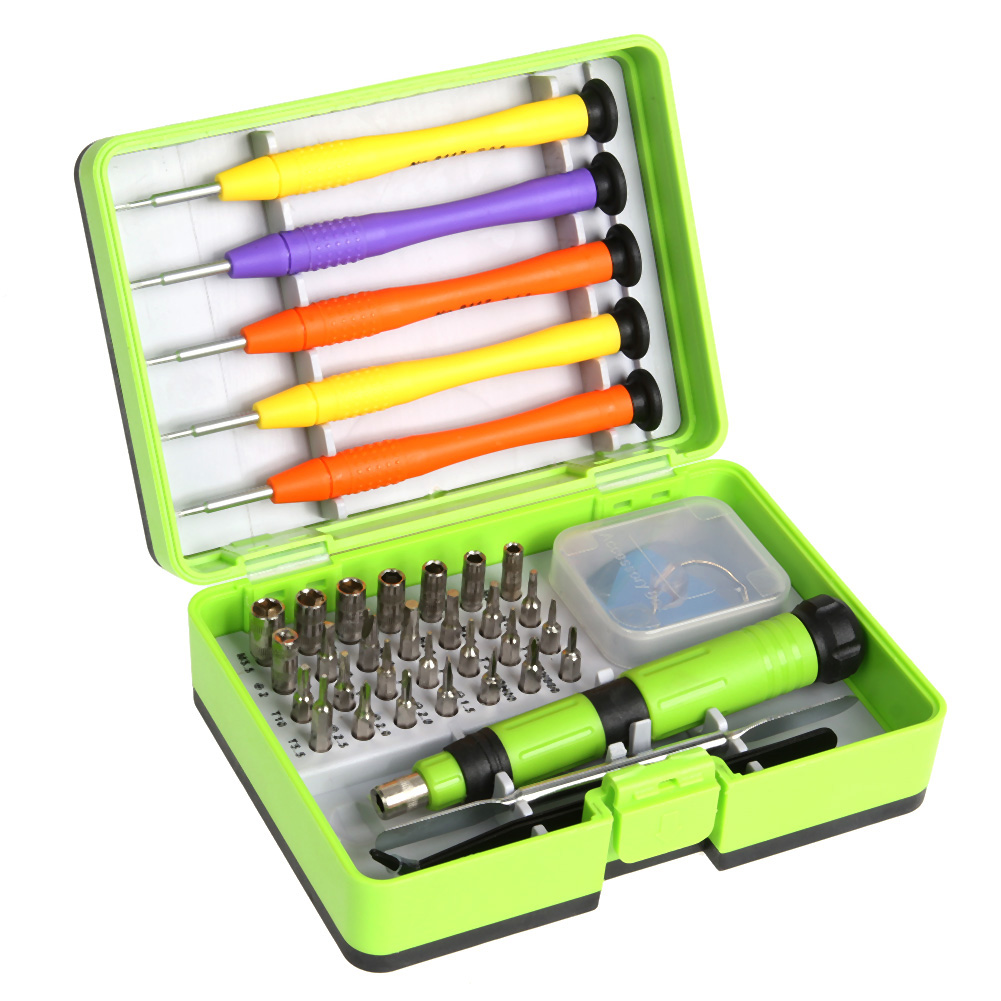 38 in1 Screwdriver Set Disassemble For Computer Watch Electronic Multi-function Screwdriver Combination Repair Tools Kit