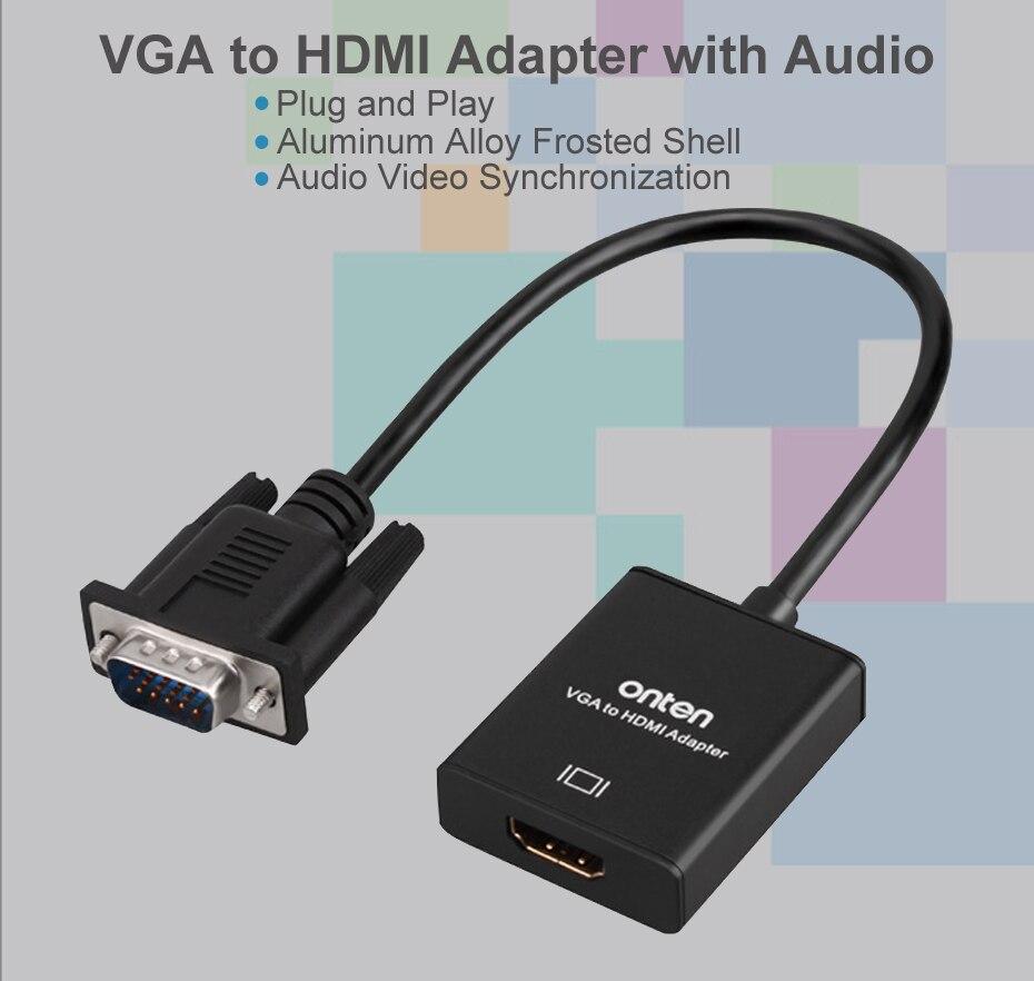 VGA to HDMI Cable Converter Adapter 1