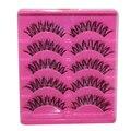 5 Pair Handmade Eye Lashes Natural False Eyelash Black Thick Long Fake Eyelashes Makeup Tool Lash Extension Kits A20