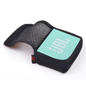 Altavoz de columna portátil cubierta protectora de viaje estuche de malla bolsa de Audio acústica para JBL GO Altavoz Bluetooth inalámbrico