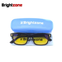 Brightzone Protect Your Eyes Anti Fatigue UV Blocking Blue Light Filter Stop Eye Strain Protection Gaming