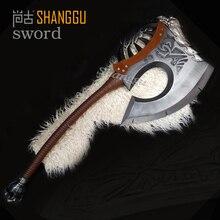 World of Warcraf Grom Hellscream Gorehowl Tribal warriors Warsong Clan Roar blood Tomahawk Sword