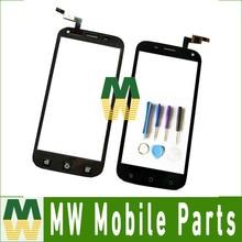 1 Шт./лот Сенсорный Экран Digitizer Сенсорный Стекло Запасная Часть Для Micromax A82 5.0 дюймов Черный Цвет С Инструментами