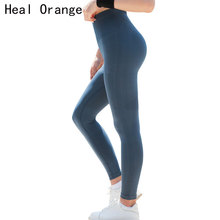 Women Sports Gym Yoga Pants Compression Tights OMBRE Seamless Pants Stretchy High Waist Run Fitness Leggings Hip Push Up цены