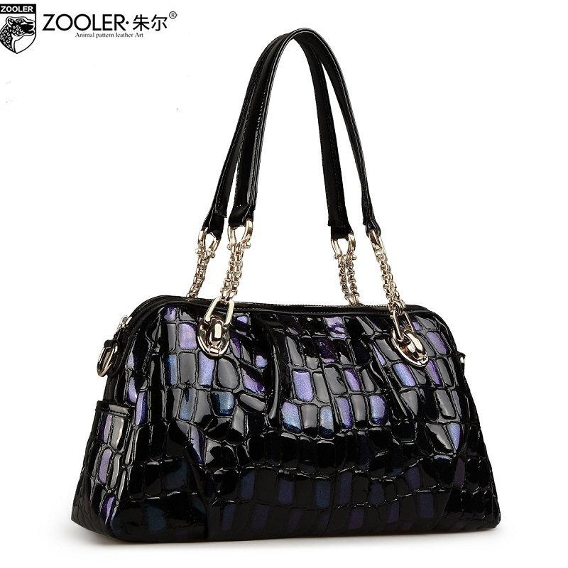 ZOOLER Hot bags handbags women famous brands 2018 genuine leather woman bag shoulder bags cowhide tote luxury high quality#110
