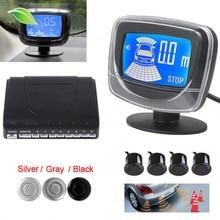 Light heart Weatherproof Dual CPU Sytem LCD Car Auto Parking Sensor Alarm System with Display Monitor – 5 Optional Colors