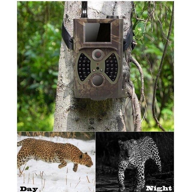 HuntingTrail Camera Cellular Mobile 2G MMS SMTP Photo Trap Night Vision Wireless Wildlife Surveillance Tracking HC300M 6