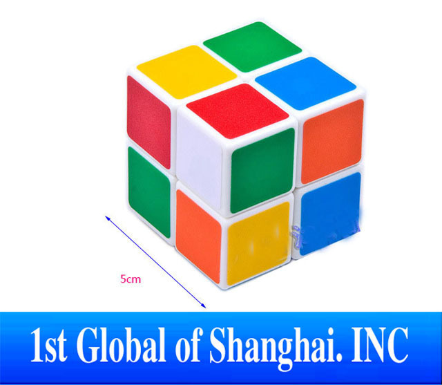 Free Shipping Special Toys Christmas Gift  2x2X2  3D Puzzle Magic Cube Intelligence educational toys for children