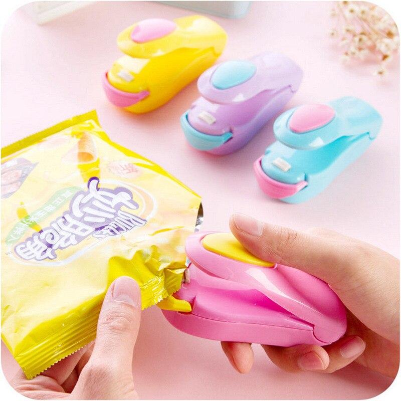 Portable Plastic Handy Heater Bag Sealer Capper Mini Electric Heat Sealing Machine Food Saver Storage Packing