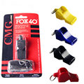 EDCGEAR fox40 Whistle Plastic FOX 40 Soccer Football Basketball Hockey Baseball Sports Classic Referee Whistle Survival Outdoor