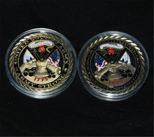 Free Shipping 5pcs/lou,US Army / Core Values Collectible Challenge Coin Strong 1775