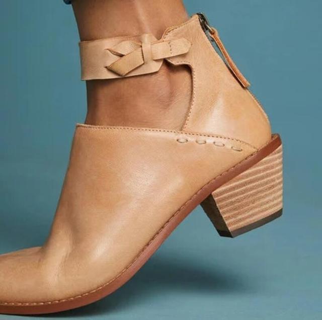 56626d8f2 Vintage de cuero martin tobillo botas chaussures femme ete niña Otoño  Invierno botas mujeres zapatos de