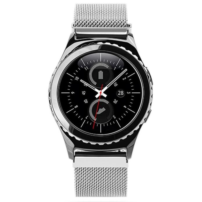 Milanese Magnetic Loop Stainless Steel Band For Samsung Gear S2 Classic SM-R732 new design 2017 spring hot sale Dec15 superior new pu leather loop type watch band strap for samsung gear s2 classic sm r732 mar22