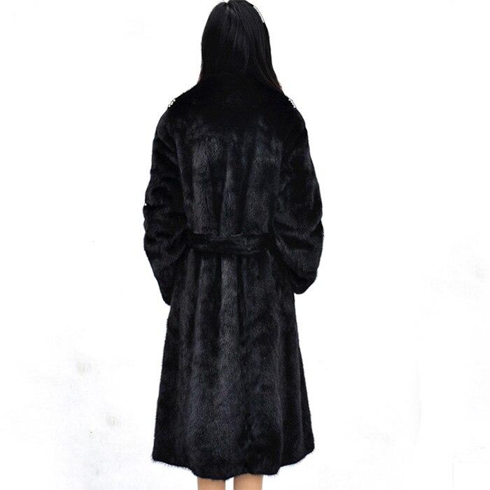 Wr614 Manteaux Vestes Faux En Dames Femmes Vison Fausse 6xl D'hiver Hiver 2019 Vintage Long Fourrure Épaississent 7qYRZwZ4