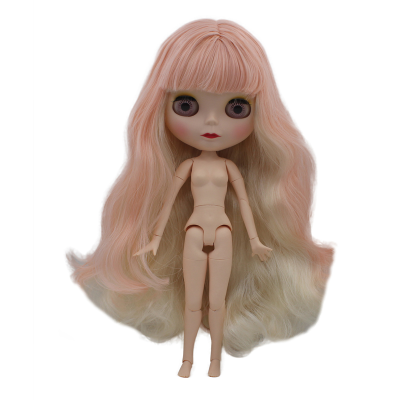 Blyth Doll BJD, Neo Blyth Doll Nude Customized Frosted Face Dolls Can Changed Makeup and Dress DIY, 1/6 Ball Jointed Dolls SO30Blyth Doll BJD, Neo Blyth Doll Nude Customized Frosted Face Dolls Can Changed Makeup and Dress DIY, 1/6 Ball Jointed Dolls SO30