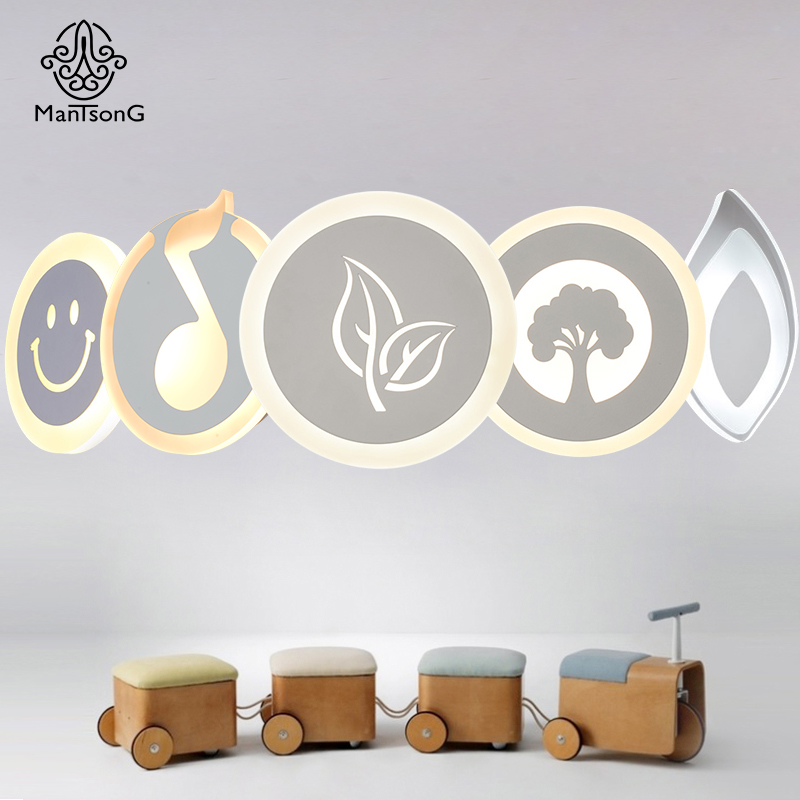 Mantsong Modern LED Wall Lamp Decorative Living Room Bedroom Corridor Wall Lights AC90-260V LED Wall Light Indoor Round Lights modern led wall lamp gold body glass dining room wall lamps cafe bedroom lights glass wall light e27 bedside lamp ac90 260v