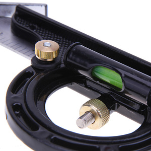Image 3 - Neueste 300MM Professionelle Carpenter Werkzeuge Kombination Platz Winkel Lineal Edelstahl Winkelmesser Lineal