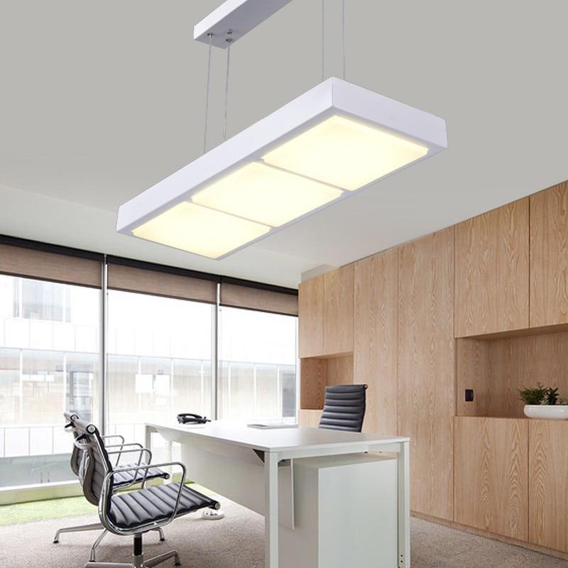 Modern Office Pendant Lights Acrylic