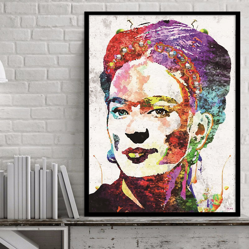 <font><b>Artist</b></font> Frida Kahlo Canvas Painting Wall Picturer Art Prints on Canvas <font><b>Home</b></font> Decor Wall Poster Decoration for Living Room No Frame