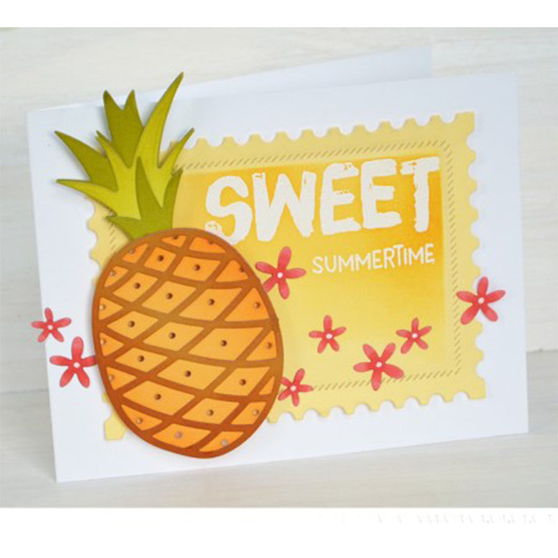 Pineapple Fruit Metal Cutting Dies Stencil for DIY Scrapbooking Photo Paper Cards Making Decorative Crafts Supplies New 2018 Die