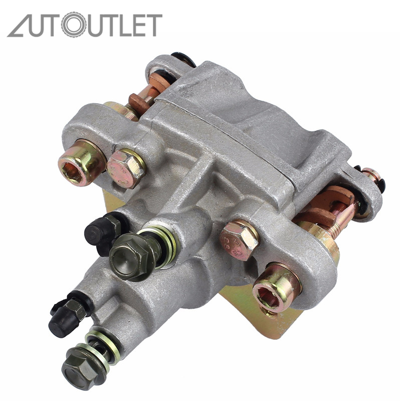 AUTOUTLET New Car Accessories Rear Car Wheel Rear Brake Caliper With Pads Metal For Polaris Sportsman