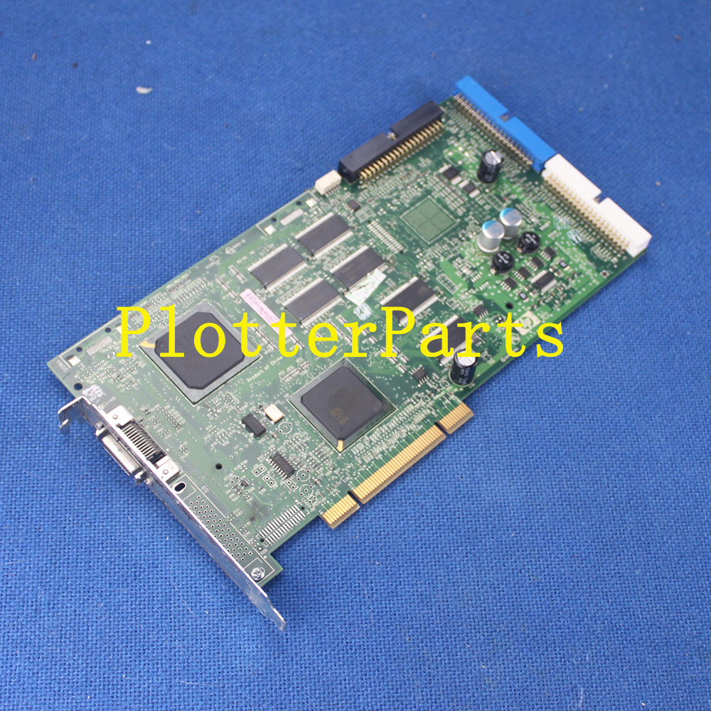 Q6651-60305 Sausalito PCI PC board 42 inch for HP DesignJet Z6100 Z6100PS plotter parts Used ch955 67021 sausalito pci pca main controller card for designjet l25500 60 inch plotter parts free shipping