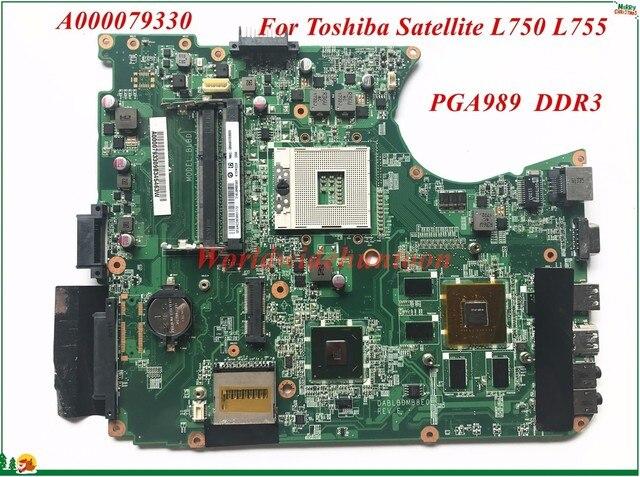 haute qualit carte m re a000079330 pour toshiba satellite l750 l755 ordinateur portable carte. Black Bedroom Furniture Sets. Home Design Ideas