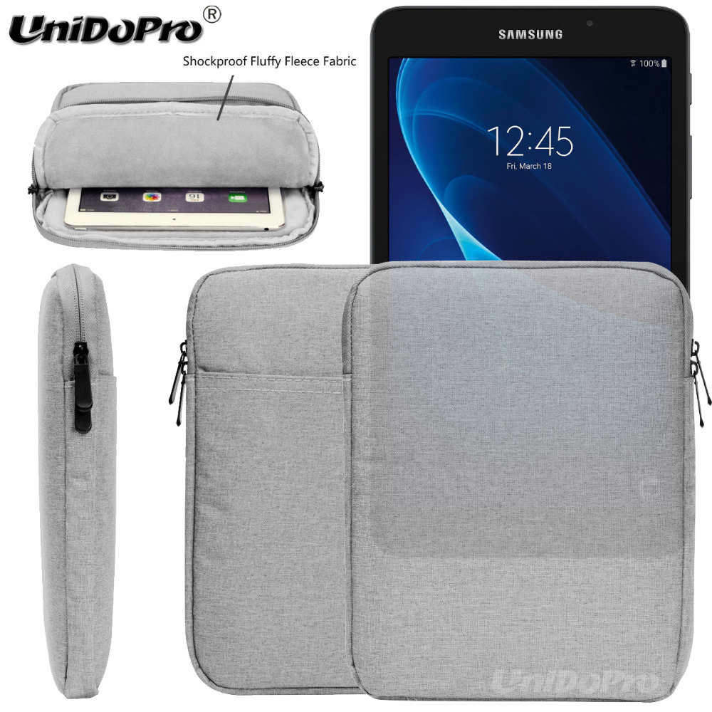 Tablet Sleeve Case For Samsung Galaxy Tab S5e 2019 S4 S3 S2 T810 T815 T820 T825 T830 T835 T725N T725C Pouch Zipper Bag Cover