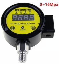 HC -YC100 pressure gauge  Digital remote transmission DC12V-24v 0 -16Mpa  pressure gauge variable supply equipment