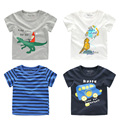 The boy cartoon T-shirt 2017 summer new Korean children children baby shirt jacket U5968