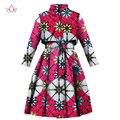 BRW 2017 Весна Африканских Плащ для Женщин Плюс Размер Dashiki African Clothing Африке Печати Наряды Офис Пиджаки WY1165