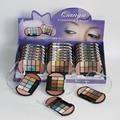 24PCS MEIS Brand Makeup Cosmetics Professional Makeup eye shadow 2 Color Blusher palette Blush Eyeshadow Palette Glitter 849