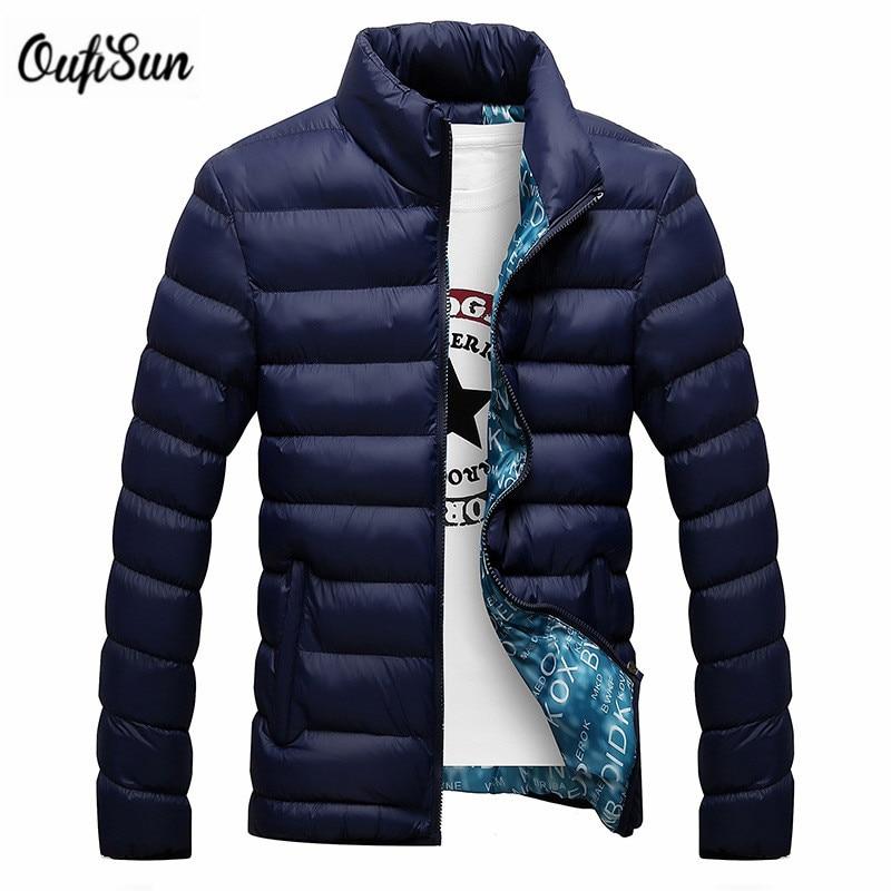 Yeni 2016 Şık Kış Ultra Hafif Ördek Aşağı Ceket Erkekler Uzun Punk Yeni Marka Slim Fit Erkek Ceket Ve Mont Parka Rahat 4XL