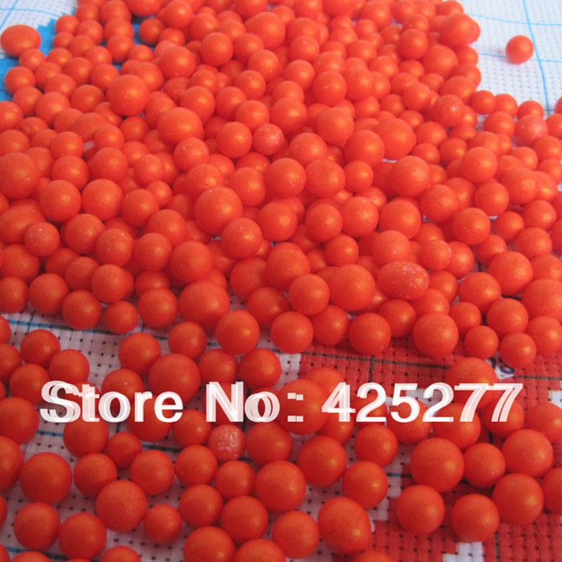 2000pcs/bag 5-8mm Free shipping sale of polyethylene foam balls about Suitable for wedding/party decorations