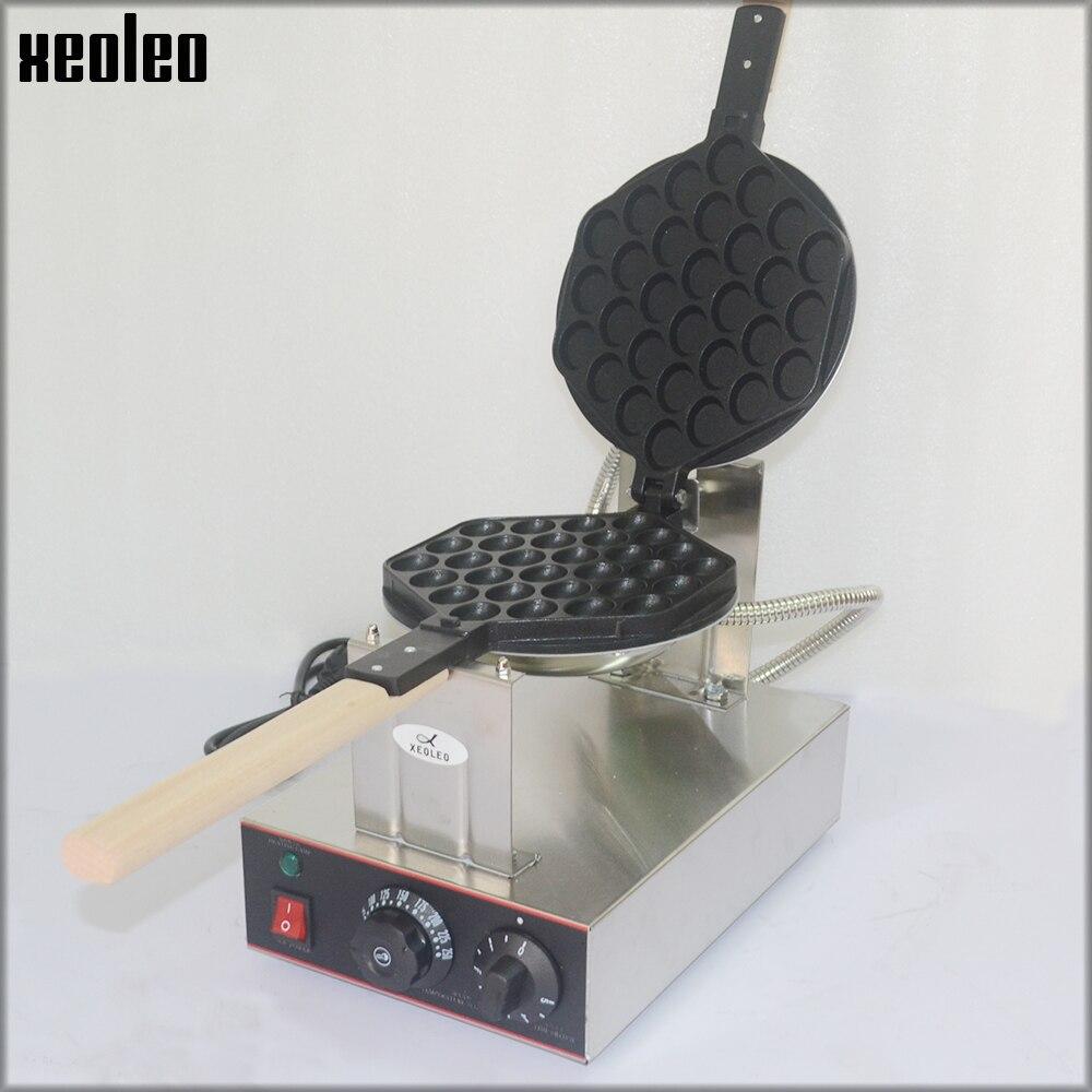 XEOLEO Egg puff maker Hongkong QQ Eggettes maker Puff Waffle maker 110V/220V Egg Bubble Muffin Machine Bubble waffle machine 110v 220v electric non stick hongkong eggettes egg puff bubble waffle egg waffle maker rotated 180 degree
