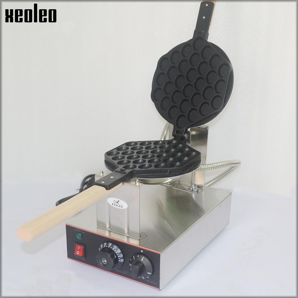 XEOLEO Egg puff maker Hongkong QQ Eggettes maker Puff Waffle maker 110V/220V Egg Bubble Muffin Machine Bubble waffle machine xeoleo electric puff waffle maker muffin machine egg waffle machine egg bubble waffle maker eggettes puff maker 220v 110v