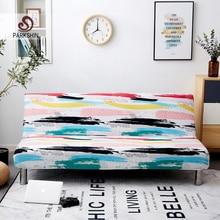 Parkshin اللون شامل سرير أريكة قابلة للطي غطاء ضيق التفاف أريكة منشفة غطاء أريكة دون مسند ذراع housse دي canap cubre أريكة